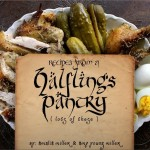 "It's Here! ""Recipes from a Halfling's Pantry: lots of these"" ebook"