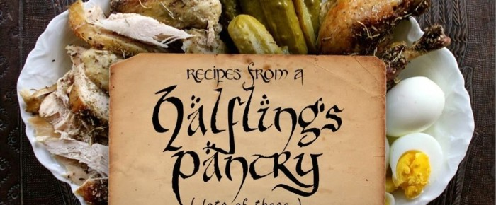 """It's Here! """"Recipes from a Halfling's Pantry: lots of these"""" ebook"""