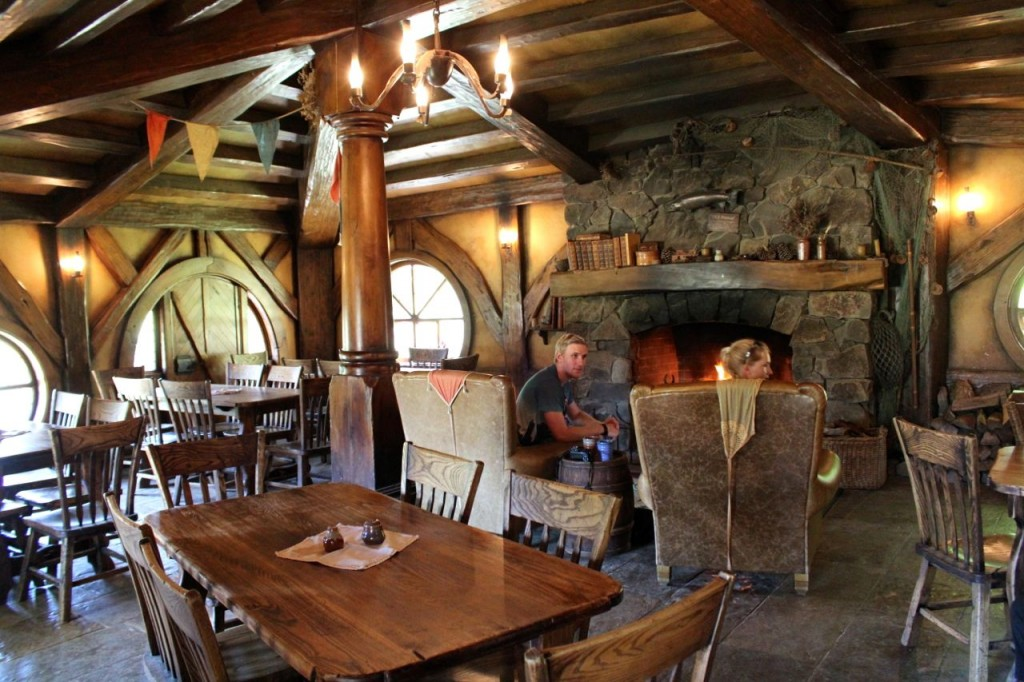 The Green Dragon tavern was a beautiful place, inside and outside.