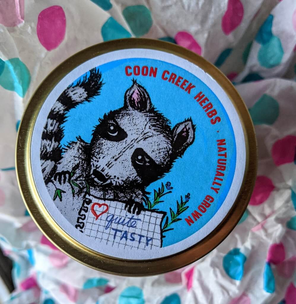 Coon Creek Herbs herbs tins