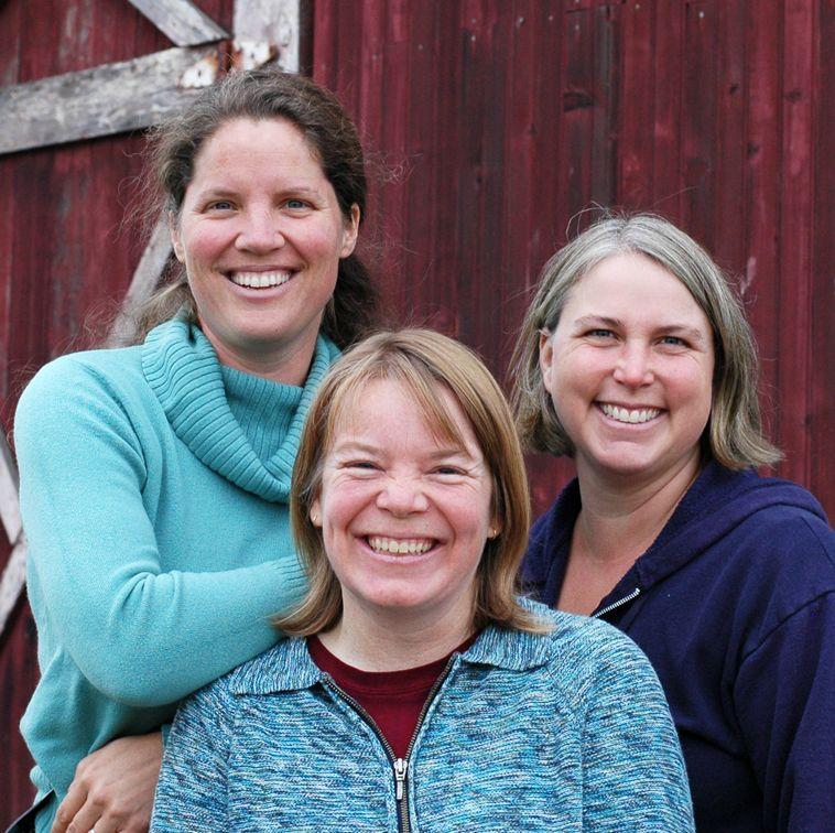 Kari, Mandy, and Amy