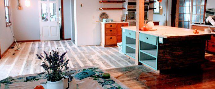 *Bug-Out!* Kitchen Remodel Update #8: Hardwood Floors