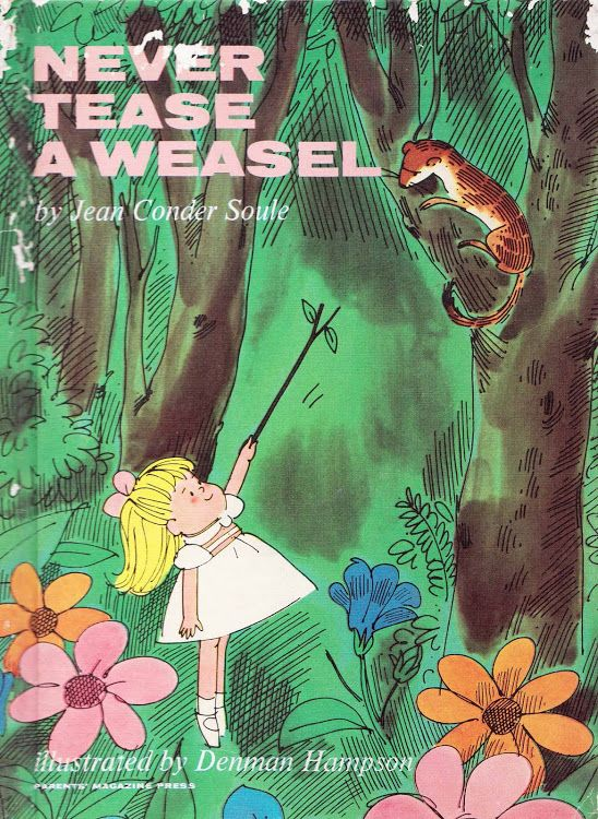 One of the picture books that Mom read to me enough times for me to still have it in my memory banks, many decades later. (Thanks, Mom.)
