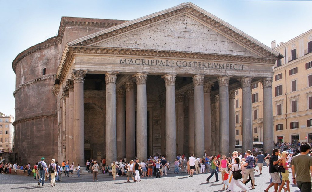 Have you seen the Pantheon? If not---go--see--it!!