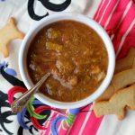 Rhubarb-ginger sauce: simple, satisfying, scrumptious, seriously, make it!