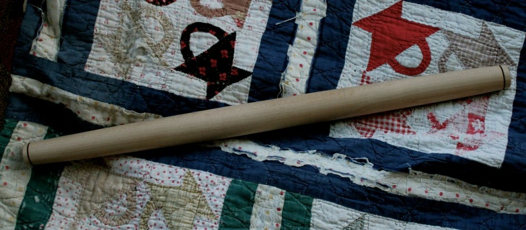 My everyday French Rolling Pin, handmade out of maple.