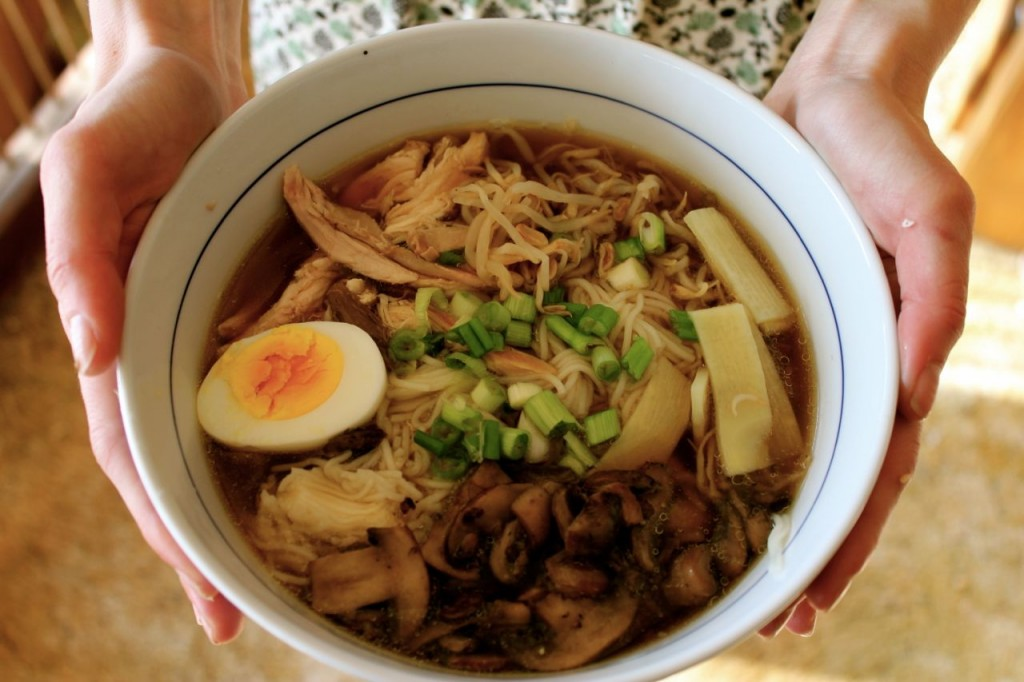 This is not your college-student ramen that comes in a packet at the store.